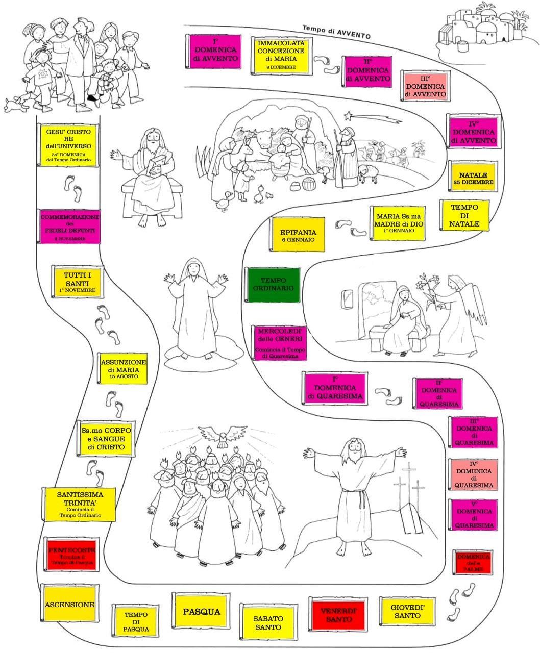 Calendario Liturgico Per Bambini.Il Canto Liturgico